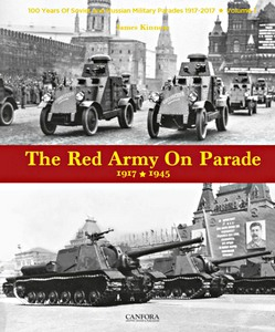 Boek: The Red Army on Parade (1) : 1917-1945