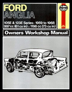 Boek: Ford Anglia (1959-1968) - Haynes Owners Workshop Manual