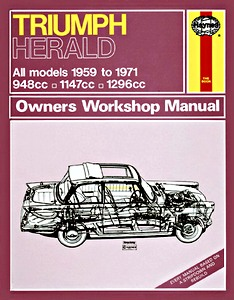 Livre : Triumph Herald - All models (1959-1971) - Haynes Owners Workshop Manual