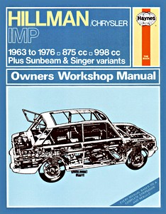 Boek: Hillman / Sunbeam Imp (1963-1976) - Haynes Owners Workshop Manual