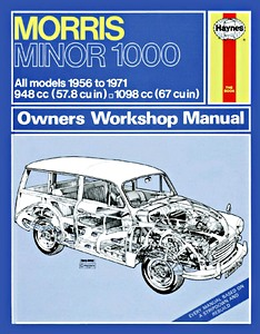 Boek: Morris Minor 1000 - All models (1956-1971) - Haynes Service and Repair Manual