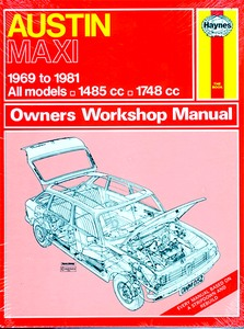 Boek: Austin Maxi - All models (1969-1981) - Haynes Service and Repair Manual