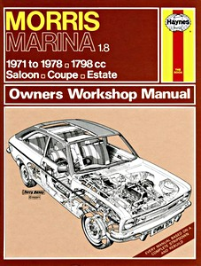 Boek: Morris Marina 1.8 - Saloon, Coupe, Estate (1971-1978) - Haynes Service and Repair Manual