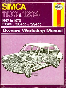 Boek: Simca 1100 & 1204 (1967-1979) - Haynes Service and Repair Manual