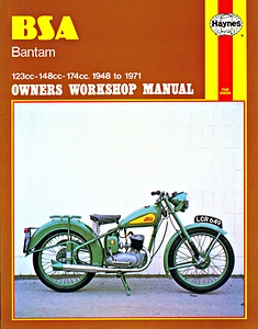 Livre : BSA Bantam (1948-1971) - Haynes Owners Workshop Manual