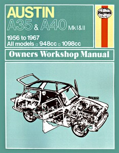 Boek: Austin A35 & A40 (1956-1967) - Haynes Owners Workshop Manual