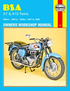 Livre : BSA A7 & A10 Twins (1947-1962) - Haynes Owners Workshop Manual