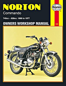 Livre : Norton Commando (1968-1977) - Haynes Owners Workshop Manual