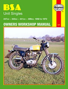 Livre : BSA Unit Singles - 247 cc, 343 cc, 441 cc (1958-1972) - Haynes Owners Workshop Manual