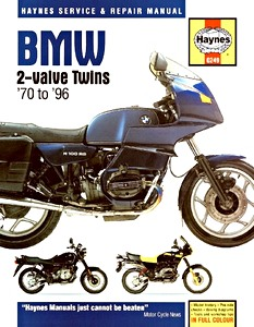 Livre : BMW 2-valve Twins (1970-1996) - Haynes Service and Repair Manual