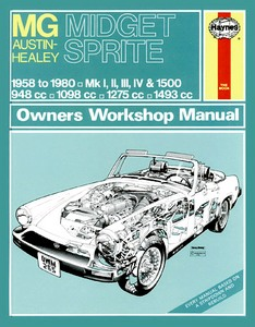 Boek: MG Midget / Austin-Healey Sprite (1958-1980) - Haynes Owners Workshop Manual