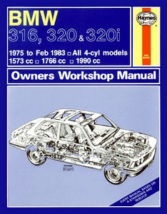 Boek: BMW 316, 320 & 320i (E21) - All 4-cyl models (1975 - Feb 1983) - Haynes Owners Workshop Manual
