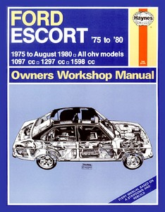 Boek: Ford Escort - All OHV models (1975 - Aug 1980) - Haynes Owners Workshop Manual