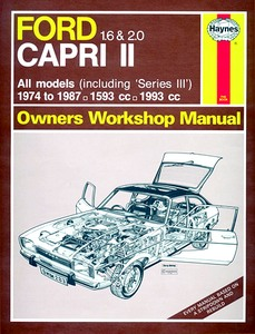 Boek: Ford Capri II - 1.6 & 2.0 (including 'Series III') (1974-1987) - Haynes Owners Workshop Manual