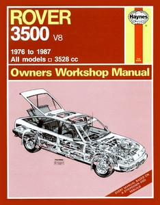Boek: Rover 3500 V8 - All models (1976-1987) - Haynes Owners Workshop Manual