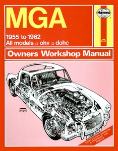 Boek: MGA - All models (1955-1962) - Haynes Owners Workshop Manual