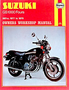 Livre : Suzuki GS 1000 Fours (1977-1979) - Haynes Owners Workshop Manual