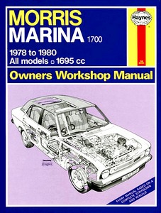 Boek: Morris Marina 1700 - All models (1978-1980) - Haynes Service and Repair Manual