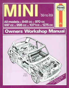 Boek: Mini - All models (1959-1969) - Haynes Owners Workshop Manual