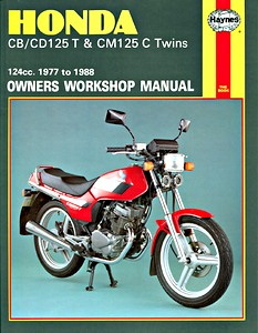 Livre : Honda CB / CD 125T & CM 125C Twins (1977-1988) - Haynes Owners Workshop Manual