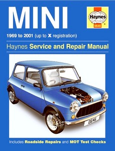 Boek: Mini (1969-2001) - Haynes Service and Repair Manual