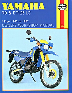 Livre : Yamaha DT & RD 125 LC - 123 cc (1982-1987) - Haynes Owners Workshop Manual