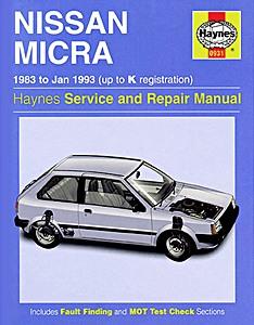 Nissan Micra (1983-2002) : revues techniques RTA - entretien ...