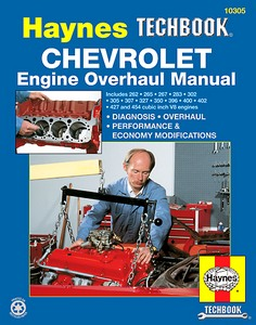 Boek: Chevrolet V8 Engine Overhaul Manual - Diagnosis, overhaul, performance & economy modifications - Haynes TechBook