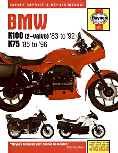 Livre : BMW K 100 2-valve (1983-1992) / K75 (1985-1996) - Haynes Service and Repair Manual