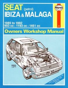 Boek: Seat Ibiza & Malaga - Petrol (1985-1992) - Haynes Service and Repair Manual