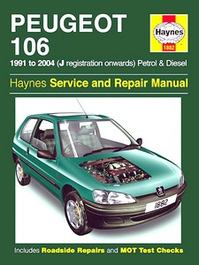 Boek: Peugeot 106 - Petrol & Diesel (1991-2004) - Haynes Service and Repair Manual