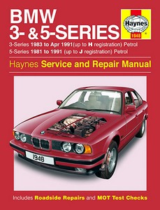 Boek: BMW 3-Series - Petrol (E30, 1981-1991) & 5-Series - Petrol (E28 and E34, 1983-Apr 1991) - Haynes Service and Repair Manual