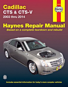 Boek: Cadillac CTS & CTS-V (2003-2014) (USA) - Haynes Repair Manual