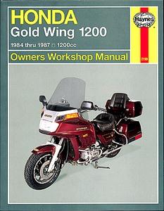 Honda GL1200 Gold Wing 1984-1987 Aspen Clymer Workshop Manual Service Repair