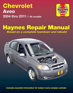 Boek: Chevrolet Aveo - All models (2004-2011) - Haynes Repair Manual