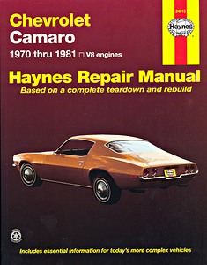 Boek: Chevrolet Camaro - V8 engines (1970-1981) - Haynes Repair Manual