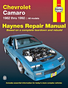 Boek: Chevrolet Camaro (1982-1992) - Haynes Repair Manual