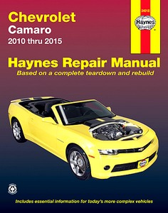 Boek: Chevrolet Camaro (2010-2015) - Haynes Repair Manual