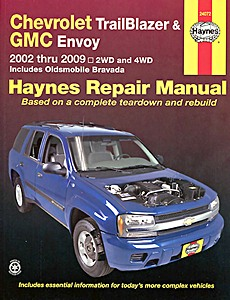 Livre : Chevrolet TrailBlazer / GMC Envoy / Oldsmobile Bravada (2002-2009) - Haynes Repair Manual