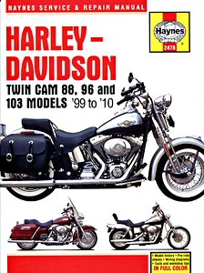 Livre : Harley-Davidson Twin Cam 88, 96 and 103 models (1999-2010) - Haynes Service and Repair Manual