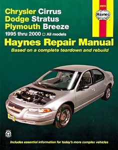 Boek: Chrysler Cirrus / Dodge Stratus / Plymouth Breeze (1995-2000) - Haynes Repair Manual