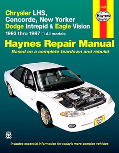 Boek: Chrysler Concorde, LHS & New Yorker / Dodge Intrepid / Eagle Vision (1993-1997) - Haynes Repair Manual