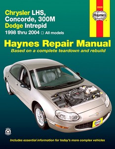 Boek: Chrysler 300M, LHS, Concorde / Dodge Intrepid - All models (1998-2004) - Haynes Repair Manual