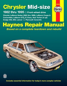 Boek: Chrysler / Dodge Mid-Size - Front-wheel drive (1982-1995) - Haynes Repair Manual