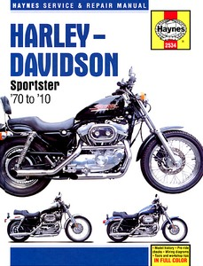 Livre : Harley-Davidson Sportster (1970-2010) - Haynes Service and Repair Manual
