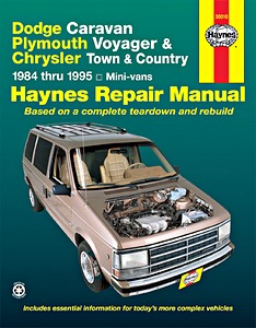 Boek: Dodge Caravan / Chrysler Town & Country / Plymouth Voyager Mini-vans (1984-1995) - Haynes Repair Manual