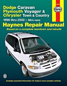 Boek: Plymouth / Chrysler / Dodge Caravan, Voyager, Town & Country Mini-vans (1996-2002) - Haynes Repair Manual