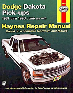 Livre : Dodge Dakota Pick-ups (1987-1996) - Haynes Repair Manual