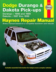 Livre : Dodge Durango (1998-1999) & Dakota Pick-ups (1997-1999) - Haynes Repair Manual