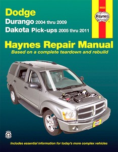 Livre : Dodge Durango (2004-2009) & Dakota Pick-ups (2005-2011) - Haynes Repair Manual